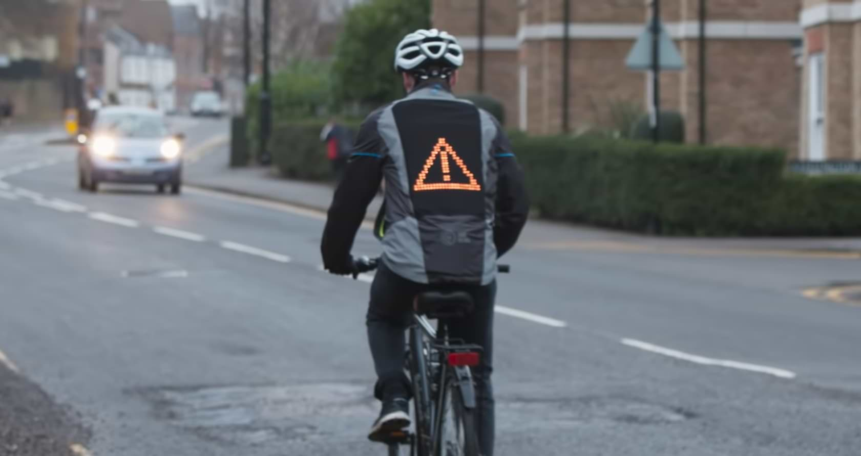 Ford Creates The 'emoji Jacket' For Cyclists To Communicate With Drivers 1