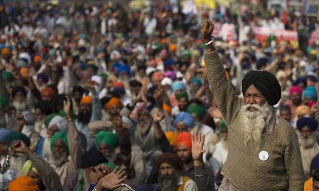 Farmers' protest turns one week in India