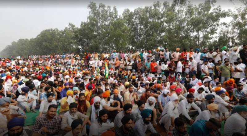 Indian farmers block roads and grow protests over farm laws