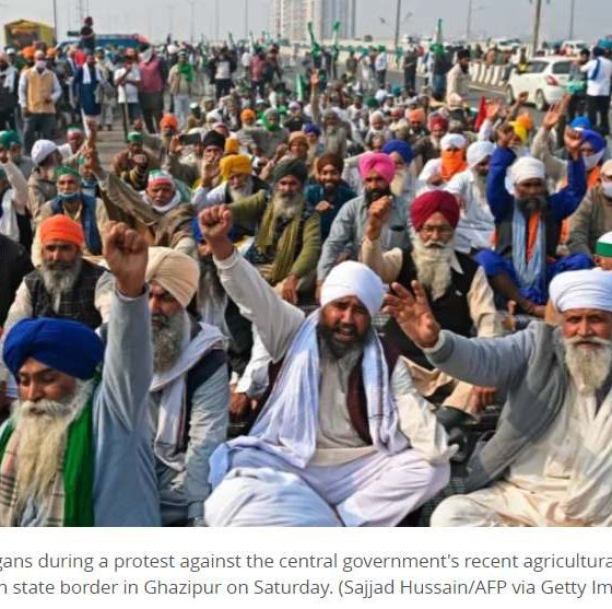 India's farmers vow to intensify protests against reforms as talks fail to make progress