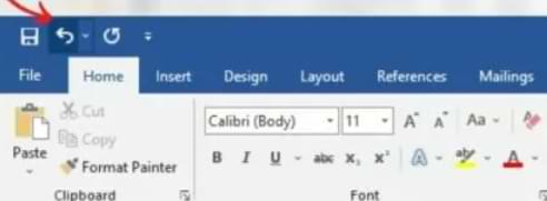 How to Undo Commands With Undo and Redo in Microsoft Word